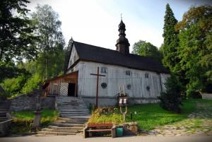 Sudeckie drewniane kościółki-Międzygórze fot.Krzysztof Góralski