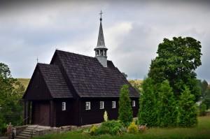 Sudeckie drewniane kościółki-Kromnów fot.Krzysztof Góralski