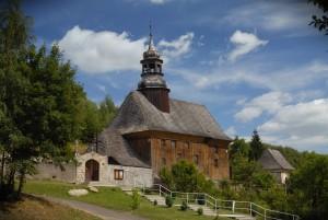 Sudeckie drewniane kościółki-Bystrzyca Górna fot.Krzysztof Góralski